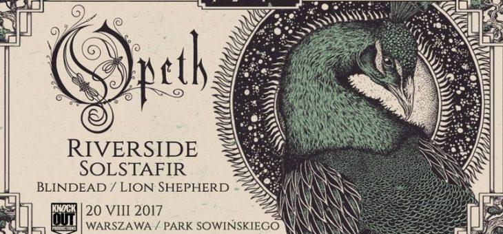 Prog In Park (Opeth, Riverside, Solstafir) / 20.08.2017 / Warszawa