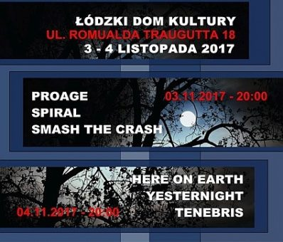 Prog The Night III / 3-4.11.2017 / Łódzki Dom Kultury / Łódź
