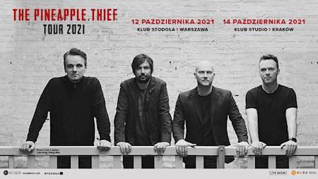 The Pineapple Thief / 12,14.10.2021 / Klub Stodoła, Klub Studio / Warszawa, Kraków